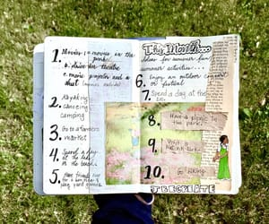 books, diary, and journals image