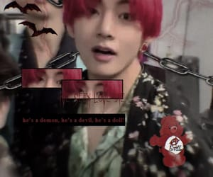cyber, goth, and taehyung image