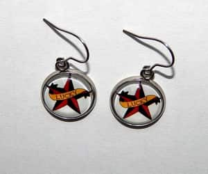 etsy, gift for her, and sailor jerry earring image