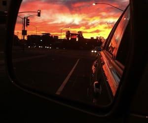 alternative, sunset, and car image