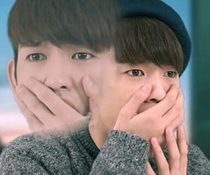 got7, jinyoung, and meme image