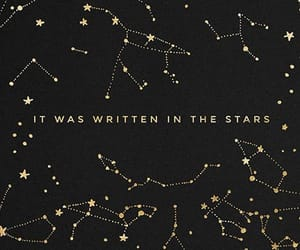 stars, constellation, and quotes image