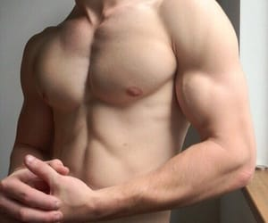 abs, boys, and veins image