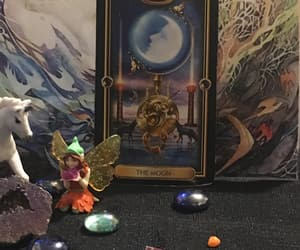 horoscope, oracle, and intuitive image