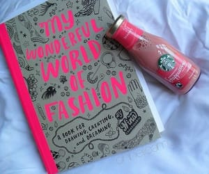 starbucks, fashion, and pink image