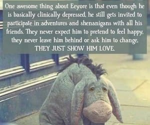 eeyore, winnie poo, and movie image