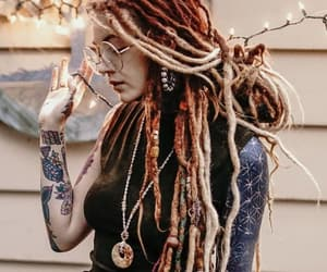 colors, hair, and dread image