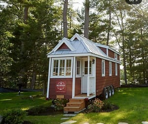 home, tiny house, and tiny living image