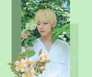aesthetic, green, and jin image