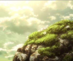 anime, landscape, and maria image