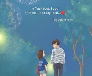 couples, soul, and eyes image