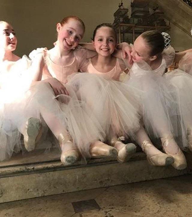 aesthetic, angelic, and ballerina image