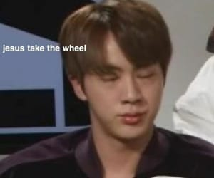 bts, meme, and jin image