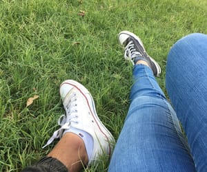 converse, love, and couple image