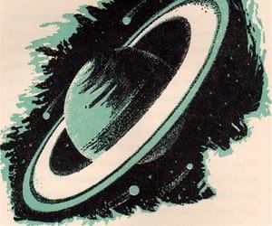 art, illustration, and planet image