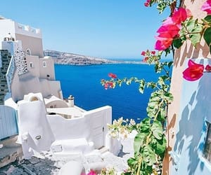 Greece, santorini, and iloveit image