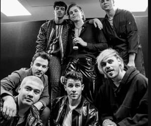 black and white, kings, and 5 seconds of summer image