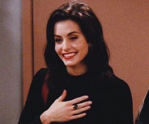 friends, monica geller, and tv show image