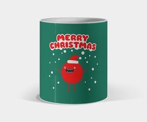 christmas, mug, and claus image