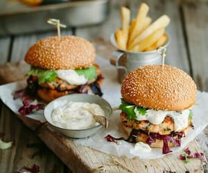 burger, food, and sandwiches image