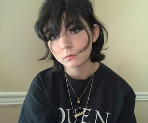 aesthetic, tumblr, and edgy girl image