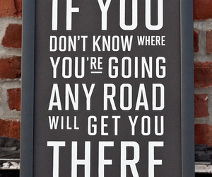quote, road, and life image
