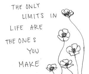 quotes, flowers, and limit image