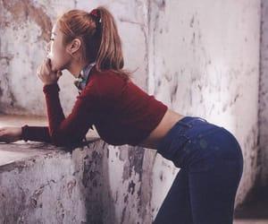 kpop, melting, and ponytail image