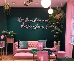 pink, room, and design image