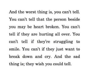 can, heartbroken, and can't image