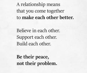 peace, quotes, and Relationship image