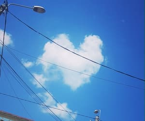 cloud, heart, and love image