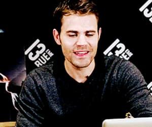 gif, paul wesley, and the vampire diaries image