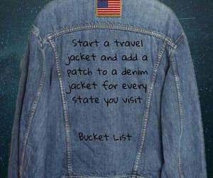 jacket, travel, and bucket list image