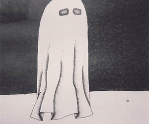 art, drawing, and ghost image