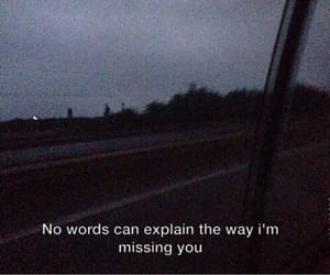dark, missing you, and quotes image