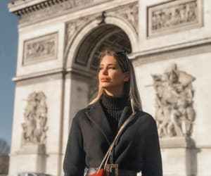 arc de triomphe, blogger, and champs elysees image
