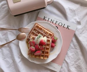 food, aesthetic, and pink image