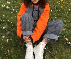 fashion, indie, and orange image