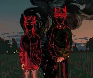 art, Devil, and netflix image