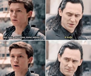 peter parker and loki image
