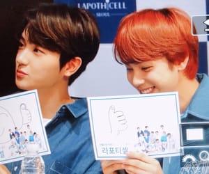 hyunjae, the boyz, and lee jaehyun image