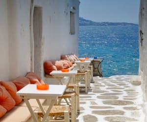 sea, summer, and Greece image