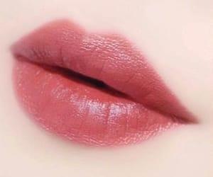 girly, lips, and lipstick image