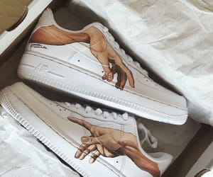 shoes, nike, and art image
