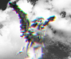 aesthetic, glitch, and greek image