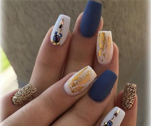 art, nails, and nailswag image