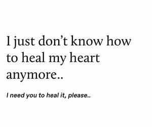 beg, broken, and broken heart image