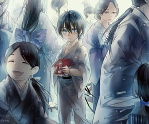 anime, noragami, and cry image