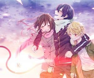 anime, noragami, and anime boys image
